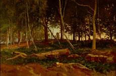 Karl Lorenz Rettich, Waldlandschaft
