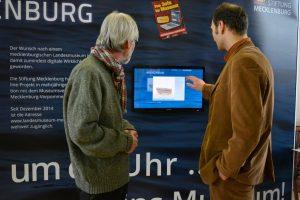 Wanderausstellung Virtuelles Landesmuseum