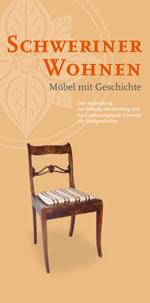 """Flyer Ausstellung """"Schweriner Wohnen"""""""