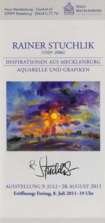 Flyer Ausstellung 2011 - Rainer Stuchlik