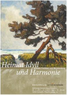 Plakat Wilhelm-Facklam-Ausstellung 2011