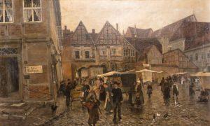 Friedrich Wachenhusen, Schlachtermarkt in Schwerin