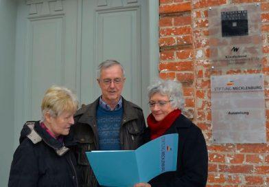 Stiftung Mecklenburg erhält Zustiftung aus privater Hand