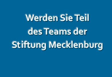 Stellenausschreibung Stiftung Mecklenburg