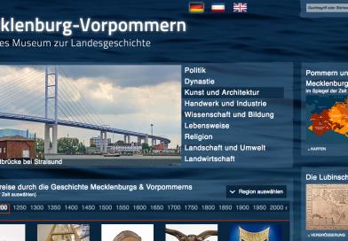 13. Mai: Freischaltung des Vorpommernteils im Virtuellen Landesmuseum