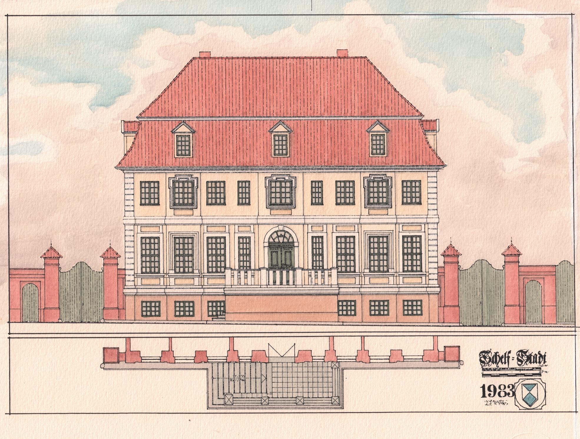 """Dieter Zander: """"Alles Fassade? Architekturfarbigkeit des 18. und 19. Jahrhunderts in Mecklenburg"""""""