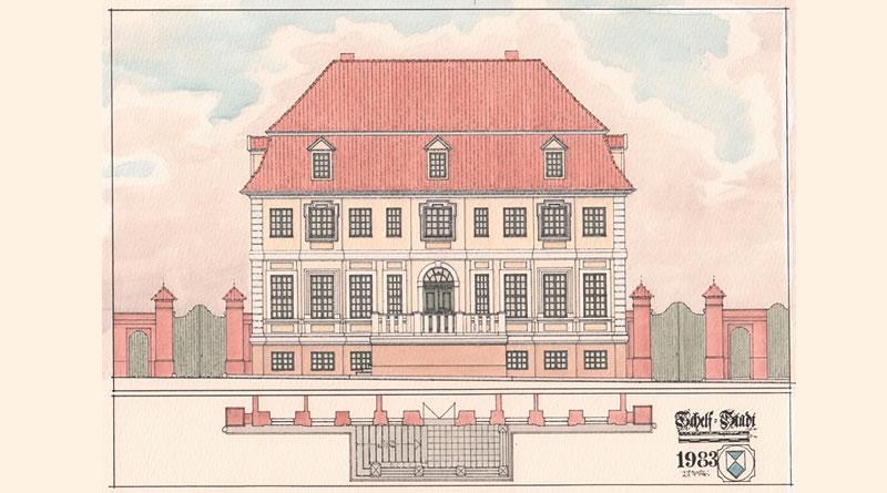 Ein Gebäude der Schweriner Schelfstadt