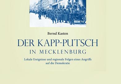 Neues Buch - Der Kapp-Putsch in Mecklenburg