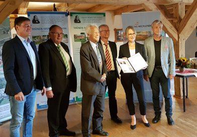 Angela Ziegler erhält Kulturerbe-Preis